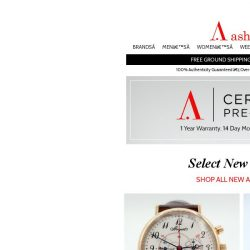 [Ashford] NEW SELECTION of Certified Pre-Owned Watches!