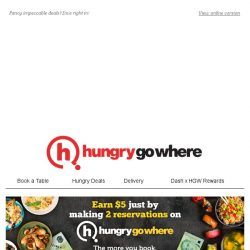 [HungryGoWhere] 1-for-1 Daily Buffet, $40 off Total Bill, & more Red Hot Deals!