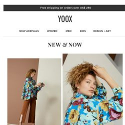 [Yoox] New & Now: discover over 10000 new arrivals