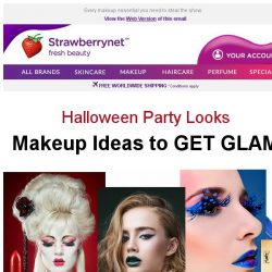 [StrawberryNet] Get GLAM for Halloween 👹 Bargain Beauty for Thrills and Chills