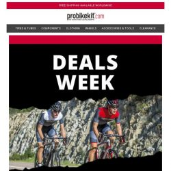 [probikekit] Daily Deal #2   Up to 60% off Top Brand Clothing...