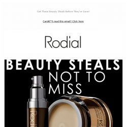 [RODIAL] Discover Our Newest Additions To Outlet