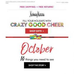 [Neiman Marcus] October update: 10 you need to see