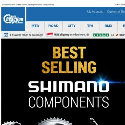 [Chain Reaction Cycles] Best Selling: Shimano Components