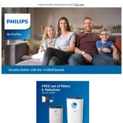 [PHILIPS] Discover better breathing with free gifts worth $288
