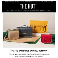 [The Hut] Enjoy our hand-picked offers just for you...
