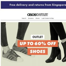 [ASOS] Up to 60% off shoes