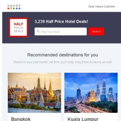 [Agoda] Saving big while traveling with these special deals!