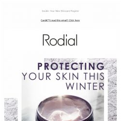 [RODIAL] Your Three Step Guide To Prep Your Skin For Winter