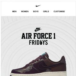 [Nike] Get it Now: Nike Air Force 1 '07 SE