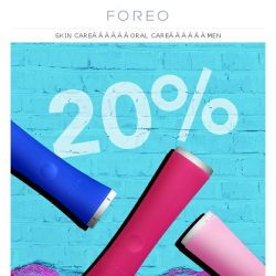 [Foreo] Say Bye to Pimples in a Flash - Save 20% on ESPADA