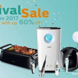 Philips: Year-End Carnival Sale with Up to 60% OFF Home Appliances & Personal Care Products