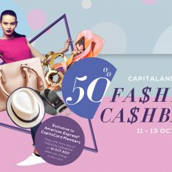CapitaLand Malls: 50% Fashion Cashback at 14 Participating Malls