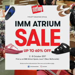 FitFlop: Biggest Sale of the Year with Up to 60% OFF Footwear at IMM