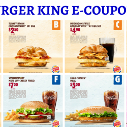 Burger King: Save Up to $13.70 with e-Coupons!