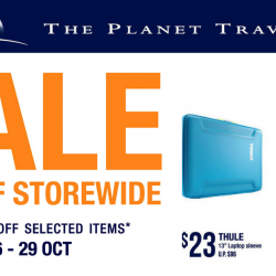 The Planet Traveller: 20% OFF Storewide + Up to 70% OFF Selected Items
