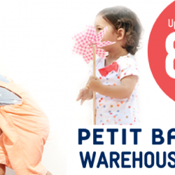 Petit Bateau: Warehouse Sale with Up to 80% OFF Baby & Kids Apparels & Accessories