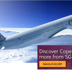 Qatar Airways: Discover Copenhagen, Athens, Zurich, Amsterdam and more from just SGD777!