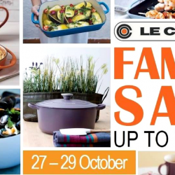 Le Creuset: Family Sale with Up to 70% OFF Your Favourite Cookware