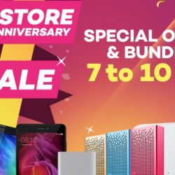 Mi Store: 1st Anniversary Sale with Special Offers & Bundles on Lazada