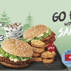 McDonald's: Samurai Burger Is Back Today!