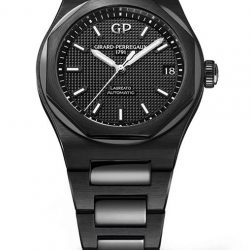 [The Hour Glass] Presenting Girard-Perregaux's emblematic model - the Laureato 42 mm Ceramic.