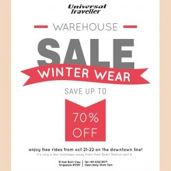 [Universal Traveller] Our warehouse sale is now on!