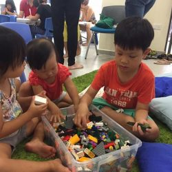 [My Little Brick Shop] Honored to have the LEGO model of Leng Kee Community Club unveiled at its grand opening, a CC that started