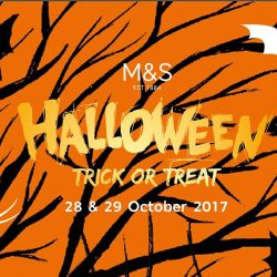 [Marks & Spencer] Calling all witches, pirates, monsters and ghouls: It's Trick or Treat time at Marks and Spencer!