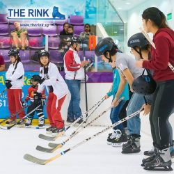 [THE RINK] Celebrate World Girls Ice Hockey Weekend WGIHW with us at The Rink with a FREE Ice Hockey trial!