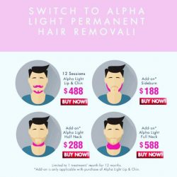 [Pink Parlour] How to ditch your shavers boys!