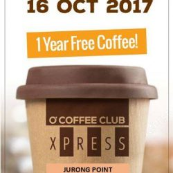 [O' Coffee Club] Fancy Free Coffee for a Year?