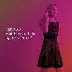 [The Clementi Mall] The G2000 Mid Season Sale starts now!