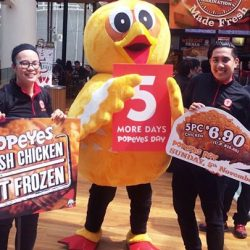 [Popeyes Louisiana Kitchen Singapore] Mark your calendars because it only costs $6.