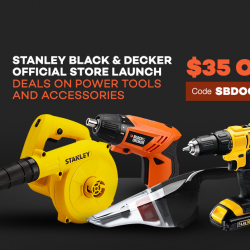 [Lazada Singapore] Staley Black & Decker is officially on Lazada!