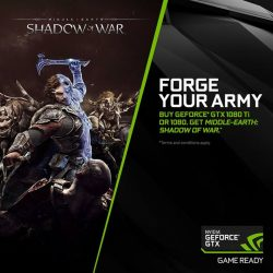 [ASUS] From now till 12 October 2017, receive a free Middle-Earth: Shadow of War game with any purchase of the