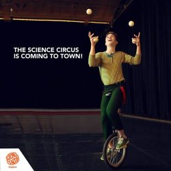 [Elements @ Play by Science Centre Singapore] The Science Circus is coming to town tomorrow!