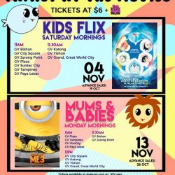 [Golden Village] Double up on fun-filled adventures with the fambam this November!