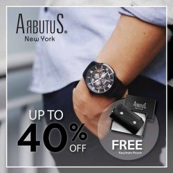 [Arbutus] Visit us at TANGS at Vivo City Level 1 from now till 5 Nov and enjoy exclusive promotions for Arbutus