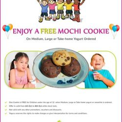 [Yoguru] Come to Yoguru & Enjoy a Free Mochi Cookie