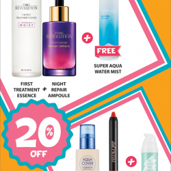 [Missha Singapore] Nurse your Monday Blues with 20% off our Best Seller Bundle and receive a free gift with each purchase!