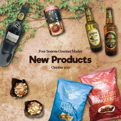 [Four Seasons Gourmet Market] New Products this October!