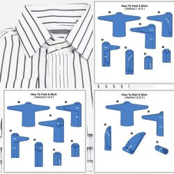 [Crocodile] Right Way to Fold a Dress Shirt When Travelling You wouldn't be packing dress shirts for your trip if