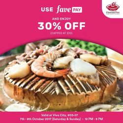 [Charcoal Thai] Use FavePay and enjoy 30% off !