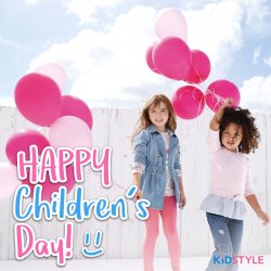 [KidStyleSg] HAPPY CHILDREN'S DAY!