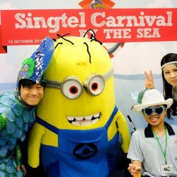 [Singtel] The Singtel Carnival drew a record attendance of 1,500 special needs students.