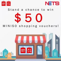 [Miniso] We are giving away 3 sets of $50 MINISO shopping vouchers to celebrate the start of our WedNETSday deal tomorrow!