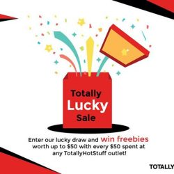 [TotallyHotStuff] Feeling lucky?