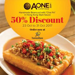 [A-One Claypot House] Big saving for you during this wonderful October!