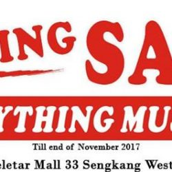 [Lamkins] Come on down to our outlet at The Seletar Mall, 03-13 for our moving out sales.